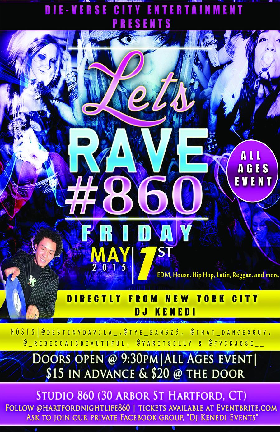 Lets Rave 860